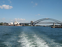 Sailing on beautiful Sydney Harbor