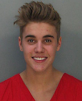 Justin Bieber mugshot after DUI arrest in Miami