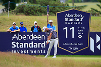 Paul Waring (ENG) on the 11th during Round 2 of the Aberdeen Standard Investments Scottish Open 2019 at The Renaissance Club, North Berwick, Scotland on Friday 12th July 2019.<br /> Picture:  Thos Caffrey / Golffile<br /> <br /> All photos usage must carry mandatory copyright credit (© Golffile | Thos Caffrey)