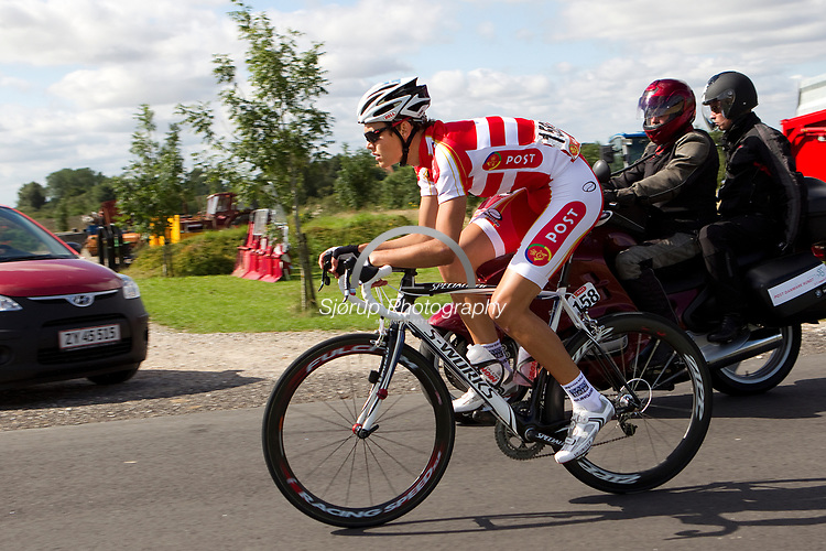 Cykkelrytter team postdanmark Thomas Riis