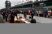 Verizon IndyCar Series<br /> Indianapolis 500 Qualifying<br /> Indianapolis Motor Speedway, Indianapolis, IN USA<br /> Saturday 20 May 2017<br /> Oriol Servia, Rahal Letterman Lanigan Racing Honda<br /> World Copyright: Phillip Abbott<br /> LAT Images<br /> ref: Digital Image abbott_IndyQ-0517_19598