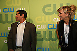 Thomas Calabro & Katie Cassidy - Melrose Place at the CW Upfront 2009 on May 21, 2009 at Madison Square Gardens, New York NY. (Photo by Sue Coflin/Max Photos)