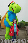 Rosie Kennelly with Toby from Toby world.
