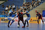 Dabiri Tabriz vs Shenzen Nanling during the 2014 AFC Futsal Club Championship Group Third place play-off match on August 30, 2014 at the Shuangliu Sports Centre in Chengdu, China. Photo by World Sport Group
