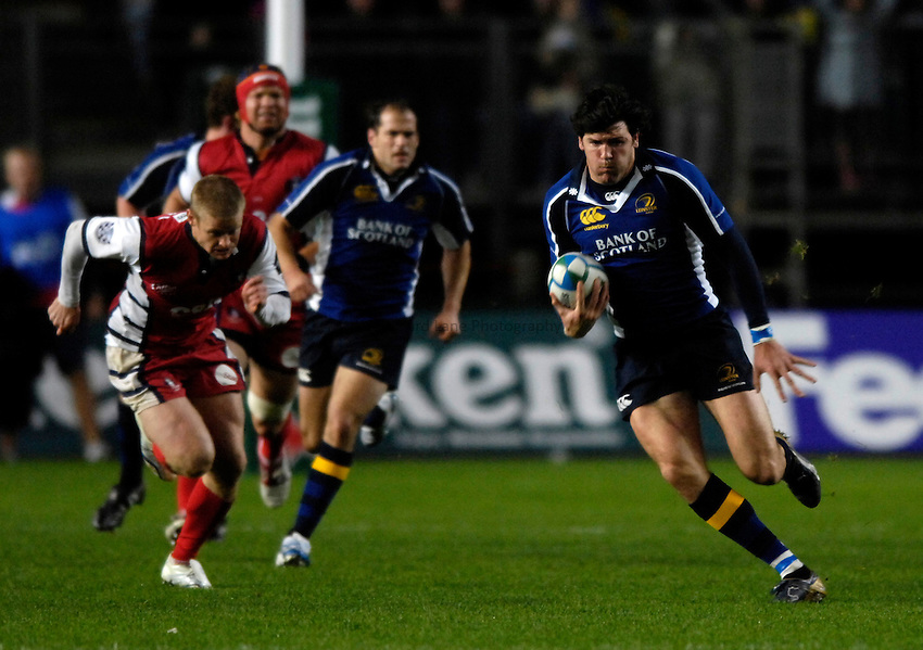 Photo: Jed Wee..Leinster Rugby v Gloucester Rugby. Heineken Cup. 21/10/2006...Leinster's Shane Horgan.