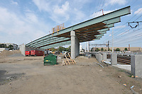 Construction Progress Railroad Station Fairfield Metro Center - Site visit 14 of once per month periodic photography