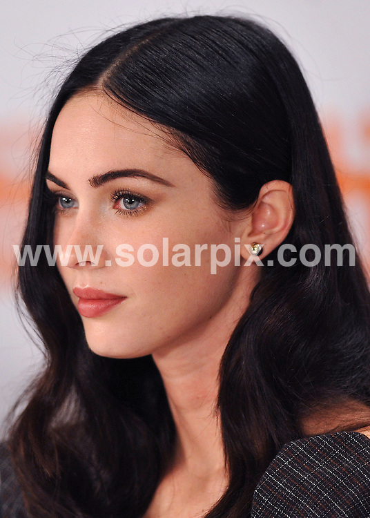 **ALL ROUND PICTURES FROM SOLARPIX.COM**.**WORLDWIDE SYNDICATION RIGHTS**.Press Conference for Jennifer's Body. Held at the Sutton Place Hotel, Toronto, Canada. 11 September 2009..This pic: Megan Fox..JOB REF: 10033 SSD     DATE: 11_09_2009.**MUST CREDIT SOLARPIX.COM OR DOUBLE FEE WILL BE CHARGED**.**MUST NOTIFY SOLARPIX OF ONLINE USAGE**.**CALL US ON: +34 952 811 768 or LOW RATE FROM UK 0844 617 7637**
