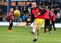 Fleetwood Town's Paddy Madden warming up before the match<br /> <br /> Photographer Andrew Kearns/CameraSport<br /> <br /> The EFL Sky Bet League One - Luton Town v Fleetwood Town - Saturday 8th December 2018 - Kenilworth Road - Luton<br /> <br /> World Copyright &copy; 2018 CameraSport. All rights reserved. 43 Linden Ave. Countesthorpe. Leicester. England. LE8 5PG - Tel: +44 (0) 116 277 4147 - admin@camerasport.com - www.camerasport.com