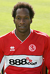 Ugh Ehiogu of Middlesbrough FC during the photocall Riverside Stadium, Middlesbrough. Picture date: 5th August 2005 <br /> Pic Credit should read Martyn Harrison/ Sportimage