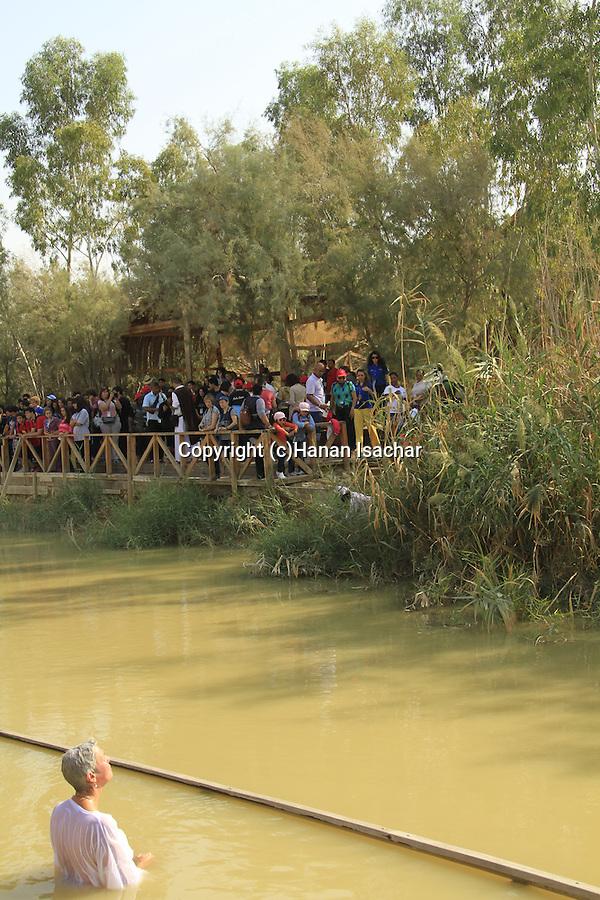 Jordan Valley, the Jordan river at Qasr al Yahud
