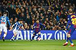 Messi, FC Barcelona 2 v 0 Espanyol, 1/4 de final en la vuelta de la Copa de SM El Rey 2018, Estadio Camp Nou, Barcelona. Photo Martin Seras Lima