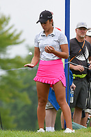 Maria Fassi (MEX) tosses a ball while she waits to head to the tee on 12 during round 4 of the KPMG Women's PGA Championship, Hazeltine National, Chaska, Minnesota, USA. 6/23/2019.<br /> Picture: Golffile | Ken Murray<br /> <br /> <br /> All photo usage must carry mandatory copyright credit (© Golffile | Ken Murray)