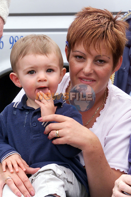 Evan and Alison Burke pictured enjoying themselves at the races in Laytown..Picture: Arthur Carron/Newsfile