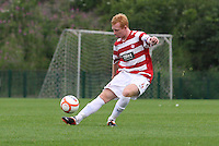 Ziggy Gordon in the Hamilton Academical v Motherwell friendly match played at New Douglas Park, Hamilton on 24.7.12..