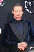 LOS ANGELES, CA - JULY 12: Jeremy Renner at The 25th ESPYS at the Microsoft Theatre in Los Angeles, California on July 12, 2017. Credit: Faye Sadou/MediaPunch