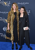 Laura Dern &amp; Jaya Harper at the premiere for &quot;A Wrinkle in Time&quot; at the El Capitan Theatre, Los Angeles, USA 26 Feb. 2018<br /> Picture: Paul Smith/Featureflash/SilverHub 0208 004 5359 sales@silverhubmedia.com