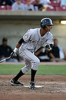 August 17 2008:  Maximo Mendez of the Wisconsin Timber Rattlers, Class-A affiliate of the Seattle Mariners, during a game at Philip B. Elfstrom Stadium in Geneva, IL.  Photo by:  Mike Janes/Four Seam Images