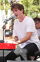 16 July 2016 - Las Vegas, Nevada - Charlie Puth.   Charlie Puth performs at GO Pool at Flamingo Las Vegas. Photo Credit: MJT/AdMedia