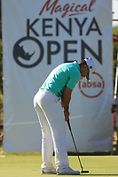 Louis de Jager (RSA) during the third round of the Magical Kenya Open presented by ABSA played at Karen Country Club, Nairobi, Kenya. 16/03/2019<br /> Picture: Golffile | Phil Inglis<br /> <br /> <br /> All photo usage must carry mandatory copyright credit (&copy; Golffile | Phil Inglis)