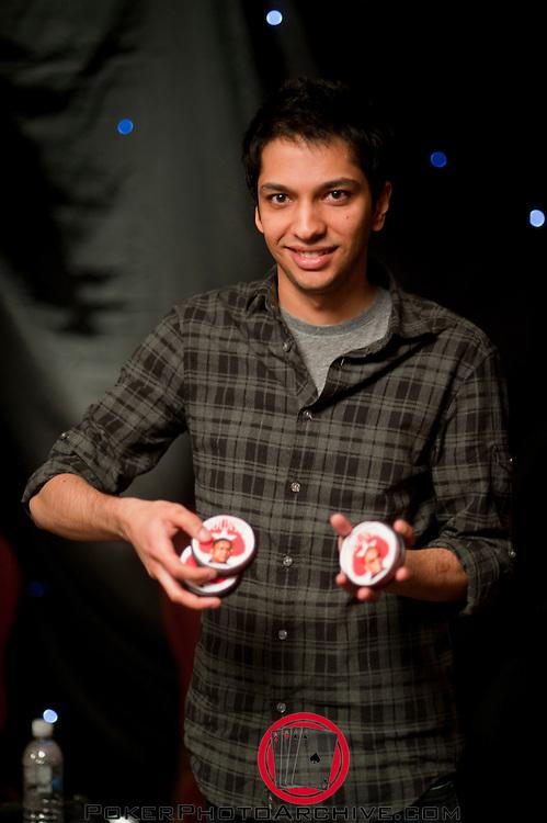 Moshin Charania wins the final table of flight 2.