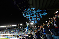 San Jose, CA - Saturday, March 04, 2017: Avaya Stadium, fans during a Major League Soccer (MLS) match between the San Jose Earthquakes and the Montreal Impact at Avaya Stadium.