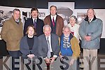 KERRY LIVES:  Journalist, author and broadcaster Sean Duignan giving a lecture as part of the Kerry Lives series at the Kerry County Museum, Tralee on Thursday seated l-r: Helen O'Carrol (Museum's curator), Sean Duignan and Padraig Kennelly. Back l-r: Councillor Pat Hussey, Matt Kinch, Councillor Jim Finnucane, Mary Johnston and Donal O'Sullivan.