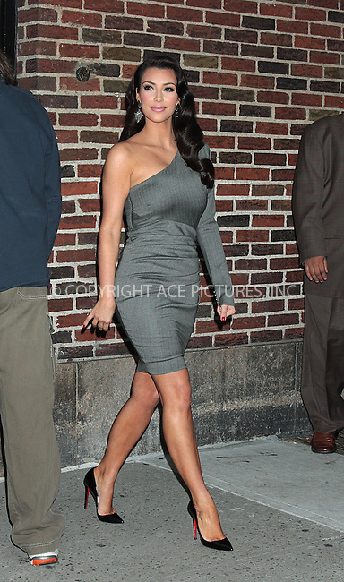 WWW.ACEPIXS.COM . . . . .  ....October 1 2009, New York City....Actress Kim Kardashian made an appearance at the 'Late Show with David Letterman' on October 1 2009 in New York City ....Please byline: AJ Sokalner - ACEPIXS.COM.... *** ***..Ace Pictures, Inc:  ..(212) 243-8787 or (646) 769 0430..e-mail: picturedesk@acepixs.com..web: http://www.acepixs.com