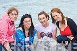 REGATTA: Looking at the Fenit Regatta on Sunday to raise funds for the RNLI L-r: Cli?ona Shanahan, Katherine Griffin, Aimee Byrne and Caitrina Browne (Castlegregory)..
