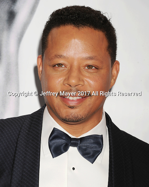 PASADENA, CA - FEBRUARY 11: Actor Terrence Howard arrives at the 48th NAACP Image Awards at Pasadena Civic Auditorium on February 11, 2017 in Pasadena, California.