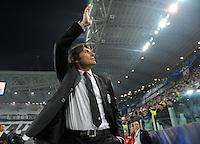 FUSSBALL  CHAMPIONS LEAGUE  VIERTELFINALE  RUECKSPIEL  2012/2013      Juventus Turin - FC Bayern Muenchen        10.04.2013 Trainer Antonino Conte (Juventus Turin)