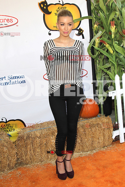 UNIVERSAL CITY, CA - OCTOBER 21:  Christian Serratos at the Camp Ronald McDonald for Good Times 20th Annual Halloween Carnival at the Universal Studios Backlot on October 21, 2012 in Universal City, California. ©mpi28/MediaPunch Inc. /NortePhoto