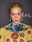 LOS ANGELES, CA - NOVEMBER 07: Actress Chloe Sevigny attends LACMA 2015 Art+Film Gala Honoring James Turrell and Alejandro G Iñárritu, Presented by Gucci at LACMA on November 7, 2015 in Los Angeles, California.