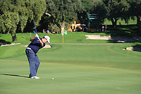 Shane Lowry (IRL) during the 2nd day at the  Andalucía Masters at Club de Golf Valderrama, Sotogrande, Spain. .Picture Fran Caffrey www.golffile.ie