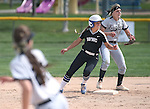 Western Nevada's Makaylee Jaussi runs the bases against Southern Idaho at Edmonds Sports Complex in Carson City, Nev., on Friday, April 8, 2016. <br />