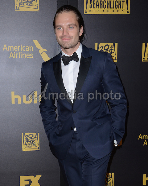 10 January  - Beverly Hills, Ca - Sebastian Stan. FOX Golden Globes Awards Party 2016 Sponsored by American Airlines held at Beverly Hilton. Photo Credit: Birdie Thompson/AdMedia
