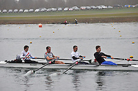 009 Bexhill RC SEN.4+..Marlow Regatta Committee Thames Valley Trial Head. 1900m at Dorney Lake/Eton College Rowing Centre, Dorney, Buckinghamshire. Sunday 29 January 2012. Run over three divisions.