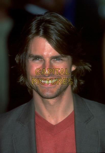 TOM CRUISE .Ref: JM9820.headshot portrait.www.capitalpictures.com.sales@capitalpictures.com.©James McCauley/Capital Picturesc