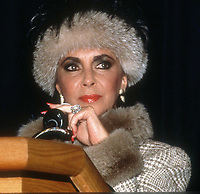 Elizabeth Taylor 1987<br /> Photo By John Barrett/PHOTOlink