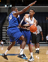 Michael Gbinije at the NBPA Top100 camp at the John Paul Jones Arena Charlottesville, VA. Visit www.nbpatop100.blogspot.com for more photos. (Photo © Andrew Shurtleff)
