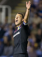 John Terry of Aston Villa shouts instructions during the Sky Bet Championship match between Reading and Aston Villa at the Madejski Stadium, Reading, England on 15 August 2017. Photo by Andy Rowland / PRiME Media Images.