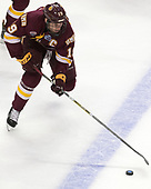 Dominic Toninato (UMD - 19) - The University of Denver Pioneers defeated the University of Minnesota Duluth Bulldogs 3-2 to win the national championship on Saturday, April 8, 2017, at the United Center in Chicago, Illinois.