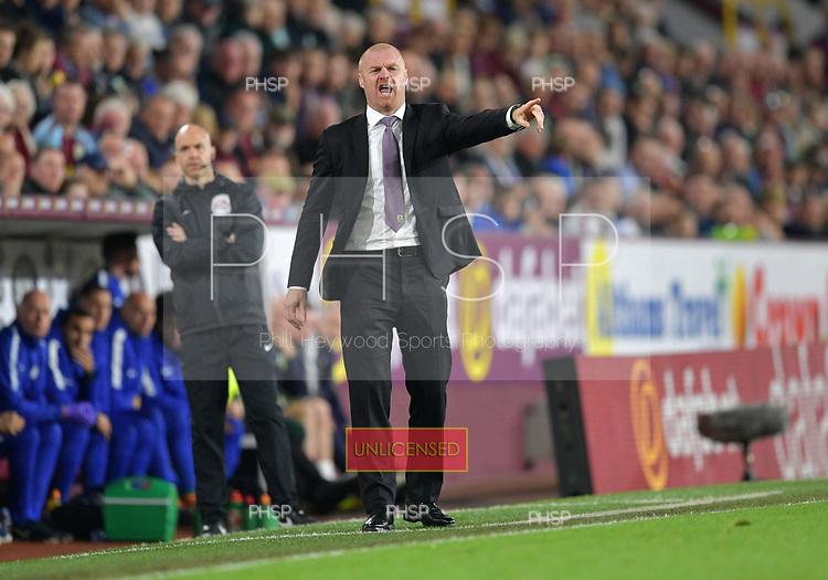 19/04/2018 Premier League Burnley v Chelsea<br /> <br /> Sean Dyche