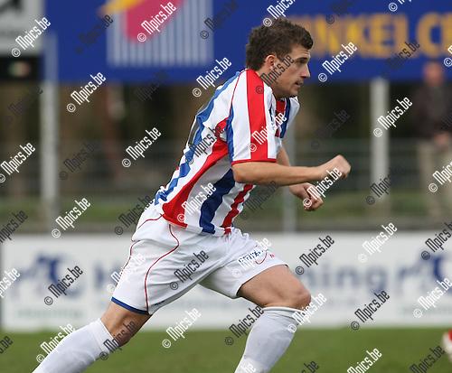 2008-11-16 / Voetbal / Kapellen FC - R. Mol-Wezel / Niels Prud'Homme..Foto: Maarten Straetemans (SMB)