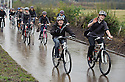 School pupils from Holland join pupils from Bo'ness Academy on a cycle tour around the Helix Path Network.