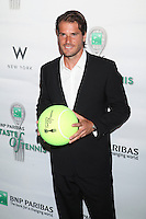 Tennis player Tommy Haas attends the 13th Annual 'BNP Paribas Taste of Tennis' at the W New York.  New York City, August 23, 2012. © Diego Corredor/MediaPunch Inc. /NortePhoto.com<br />
