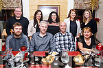 Double Celebration: Birthday boys Des Bailey and Mark O'Donoghue celebrate their birthdays with colleagues  from the KYDS at the Brogue Inn on Friday last.<br /> Seated from left, Brian O'Shea, Des Bailey, Mark O'Donoghue and Geraldine O'Mara. Standing, Ken O'Neill, Helena Falvey, Katrina McCarthy, Louise Daly and Deidre Nagle.