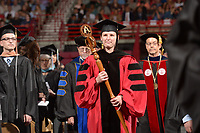 NWA Democrat-Gazette/ANDY SHUPE<br /> Saturday, May 12, 2018, during commencement exercises at Bud Walton Arena in Fayetteville. Visit nwadg.com/photos to see more photos from the ceremony.