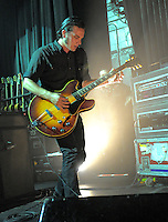 Peter Hayes from California based rock band Black Rebel Motorcycle Club performs at The Fillmore Theater NYC