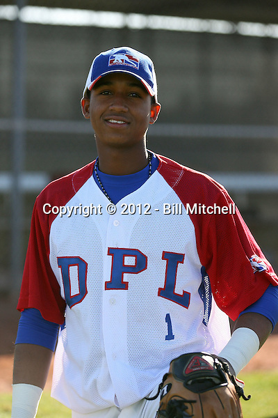 Richard Urena - Dominican Prospect League all-stars 2012 minor league spring training (Bill Mitchell)