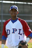 Richard Urena - Dominican Prospect League all-stars 2012 minor league spring training (Bill Mitchell)